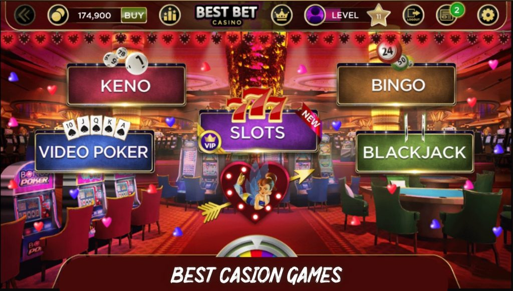 best games to play at casino to win
